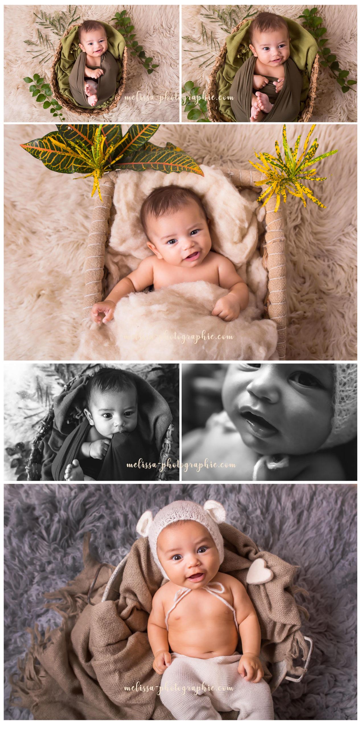 Adorable bébé photographié en Martinique 972